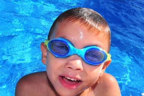 Anfängerschwimmunterricht Kinder Grp. 2